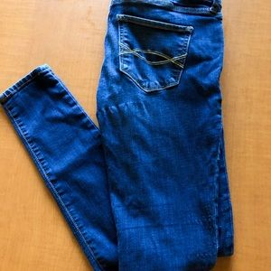 Blue Skinny Jeans - Abercrombie & Fitch